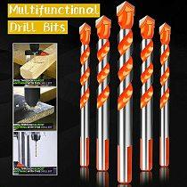 5pcs/set Handle Multifunctional Drill Bits Marble Perforator Ceramic  Drill