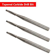 Automobile Windshield Repair Tool 1mm Diameter DIY Car Glass Tapered Carbide Drill Bit For Auto Glass Sliver