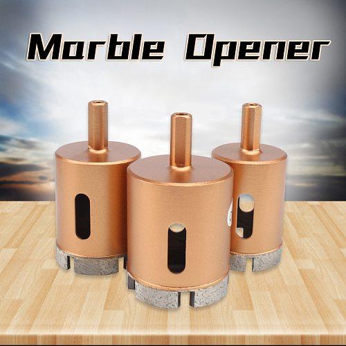 Diamond Marble Opener 6-100mm Diamond Core Bit Hole Saw Drill Bit For Marble Granite Brick Tile Ceramic Concrete Drill
