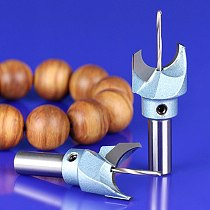 Quality 10mm*12mm Buddha Beads Ball Drill Tool Solid Carbide Woodworking Router Bit