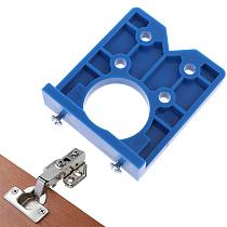 35mm DIY Locator Accurate Woodworking Mounting Hinge Drilling Jig Guide Door Hole Opener Concealed Cabinet Accessories Tool
