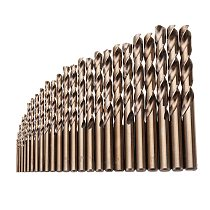 25pcs 1-13mm HSS M35 Cobalt Twist Drill Bit Set for Metal Wood Drilling Drill Bit Sets Kits