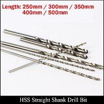 5.3mm 5.4mm 5.5mm 5.6mm 250mm 300mm 350mm 400mm 500mm Extra Long Metal Wood High Speed Steel HSS Straight Shank Twist Drill Bit