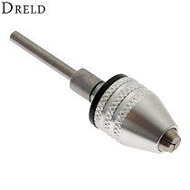 1Pc Dremel Accessories 0.3-3.4mm Mini Drill Chuck Adapter Converter Grinding Engraving Machine Conversion Drill Chuck 3mm Shank