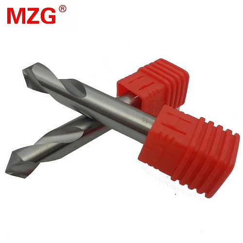 HRC55 WGDDZ 3mm 4mm Tungsten Carbide Steel Point Angle 90 Degree Spot Drill Bit for Machining Hole Drill Chamfering Tools
