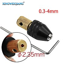 2.35mm Electric motor shaft Mini Chuck Fixture Clamp 0.5mm-3.2mm Small To Drill Bit Micro Chuck fixing device