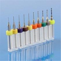 New 10Pcs Electronic PCB Print Circuit Board Carbide Micro Drill Bits Engraving Tool 0.3/0.4/0.5/0.6/0.7/0.8/0.9/1.0/1.1/1.2mm