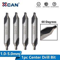 XCAN HSS Center Drills Bit 60 Degree Metal Drill Bit Power Tools Hole Drilling Hole Cutter 1.0/1.5/2.0/2.5/3.0/3.5/4.0/5.0mm
