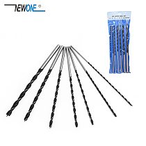 7 Pieces 300mm High-carbon Steel Wood Drill Bit Set Extra Long Brad Point Wood Drill Three Point Woodwork Tool 4 5 6 7 8 10 12mm