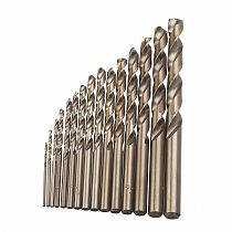 15pcs Cobalt Drill Bits For Metal Wood Working M35 HSS Steel Straight Shank 1.5-10mm Twisted Drill Bit Power Tools Mayitr