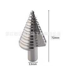 Speed Steel 4241 Step Drill Multifunction Hole Opener Pagoda Drill 5-35mm White Step Drill 12mm Handle Metal Reamer