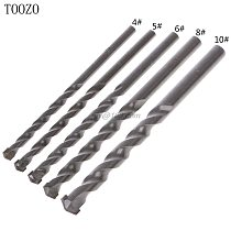 Tungsten Carbide Drill Bit Masonry Tipped Concrete Drilling 4/5/6/8/10mm Power Tool Accessories