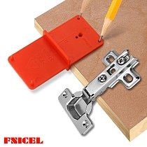 Hinge Hole Drilling Guide 35mm 40mm Hing Installation Jig Door Cabinet Hinge Hole Locator Woodworking Tool