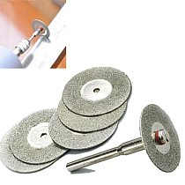 5Pcs 22mm Cutting Disc Diamond Grinding Wheel Disc Circular Saw Blade Abrasive Mini Drill Rotary Tool Accessories