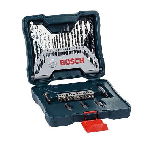 Bosch 33-Piece Twist Drill Combination Metal Drill Bit Masonry Drill Bit Woodworking Drill Bit Screwdriver Head Mixed Set