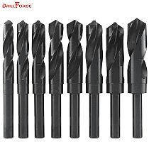 1PC 12mm-40mm 1/2  inch Dia Reduced Shank HSS Twist Drill Bit (12/13/14/15/16/17/18/19/20/21/22/23/24/25/26/28/30/32/35/38/40mm)
