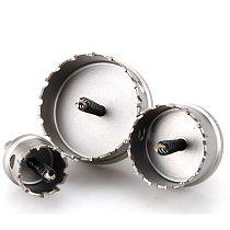 12-100mm Drill Bit M35 Carbide Cobalt Steel Alloy Hole Saw Cutter Bit set Stainless Steel Plate Iron Metal Cutting Kit