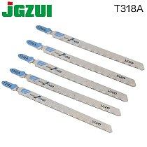 5PCS Saw Blades T318A Clean Cutting For Wood PVC Fibreboard 132mm Reciprocating Saw Blade Power Tools