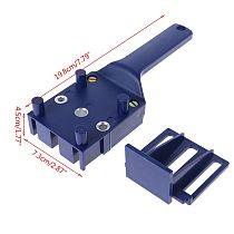 Handheld Handheld Woodworking Doweling Jig Drill Guide Wood Dowel Drilling Hole Saw Accessories Template Wood Drilling Dowelling