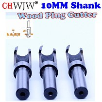 1pcs High Quality Round Tube Type Wood Plug Cutter Barrel Cork Drill Plug Cutter Drill  Hole Cutter, Round Plug Cutter - CHWJW