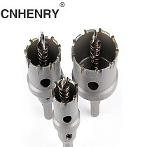 1pc 16-50mm Core Drill Bit Stainless Steel Hole Saw TCT Carbide Tip Drill Bit Metal Cutting Drilling Power Tools