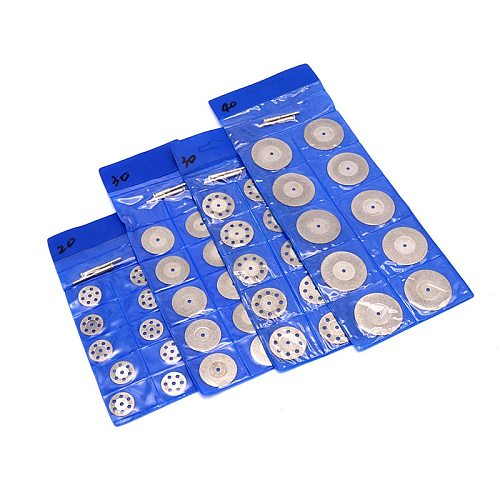 Pinkman Rotary Tool Circular Saw Blades Cutting Discs Diamond Disc Mandrel For Dremel Mini Drill Power Tool