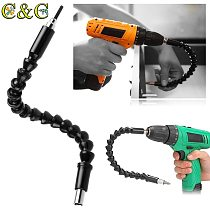 295mm Flexible Shaft Bit  Extention Screwdriver Drill Bit Holder Connect Link 1/4  Hex Shank for Electronic Drill Drill Adapter