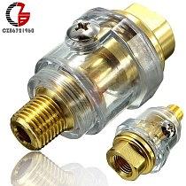 1/4  BSP Mini In-Line Oiler Lubricator for Pneumatic Tool & Air Compressor Pipes