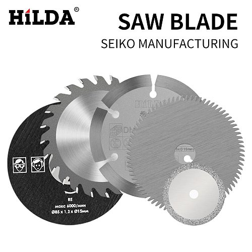 HILDA 3 pcs Electric Saw Blades For Power Tool Circular HSS Saw Blade Dremel Cutter Circular Mini Saw Blades For Woodworking