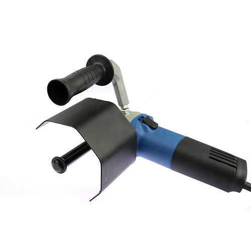 Hand held Linear Polisher Parts, Angle Grinder Adapter, Protective Cover, Bulgarian Extension Handle
