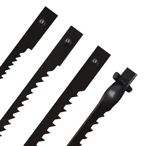 TASP 12pcs 4  105mm Pinned Scroll Saw Blades Wood Cutting Blade for Dremel Moto Saw