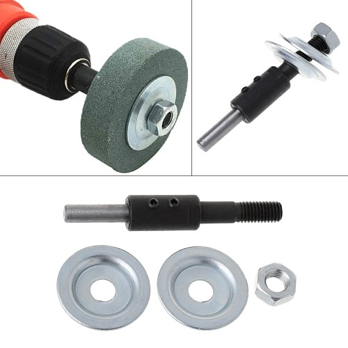 2020 New Spindle Adapter Bench Grinder Left Axial For Grinding Polishing 8mm Shaft Motor