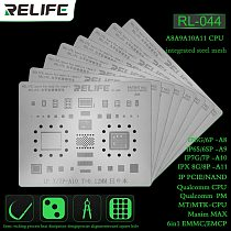 SUNSHINE RELIFE RL-044 Steel net for iphone series A8A9A10A11A12 CPU EMMC EMPC SAM MTK for iPhone x multi-purpose Plant tin net
