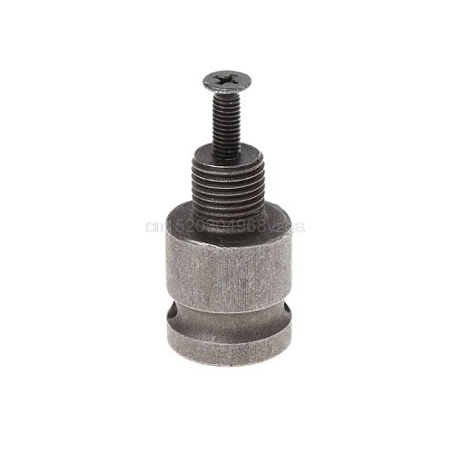 1/2'' Drill Chuck Adaptor For Impact Wrench Conversion 1/2-20UNF with 1 Pc Screw S05 Wholesale&DropShip