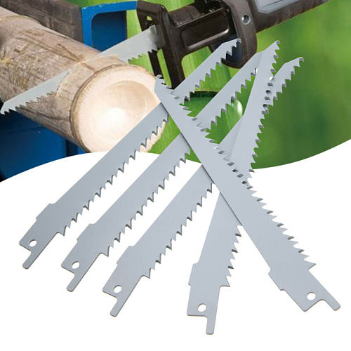 5 Pcs S644D 150mm High Carbon Steel Reciprocating Saw Blades Sabre For Wood