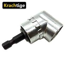 Krachtige 105 Degree Angle Extension Right Driver Drilling Shank Screwdriver Magnetic 1/4 Inch Hex Drill Bit Socket Adapt