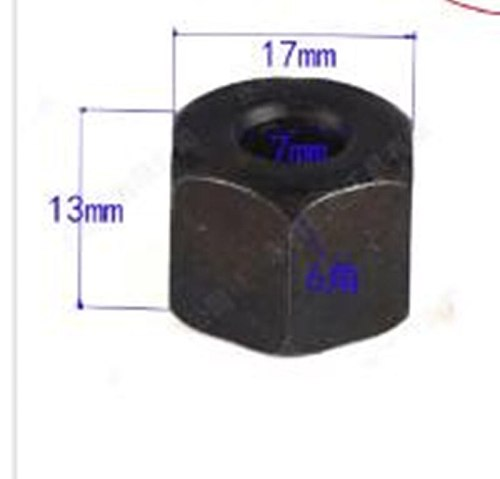 COLLET CONE NUT 763608-8 for Makita  3709 3710 MT370 MT372 3701 3708FC 3708F 3707FC 3706 3707F 3705 3703 3700B M3700G Router