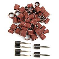Jumbo 51pc Drum Sanding Kit - Fits Dremel - Includes Rubber Drum Mandrels - 1/2, 3/8 & 1/4 inch