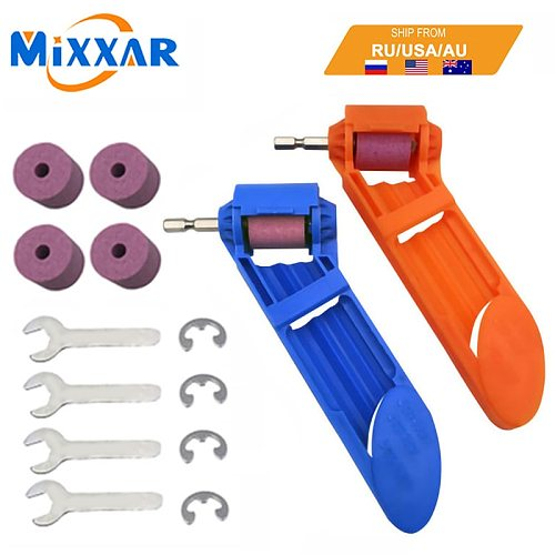 Dropshipping Portable Drill Bit Sharpener Corundum Grinding Wheel 2-12.5mm for Grinder Tools for Drill Sharpener Power Tool