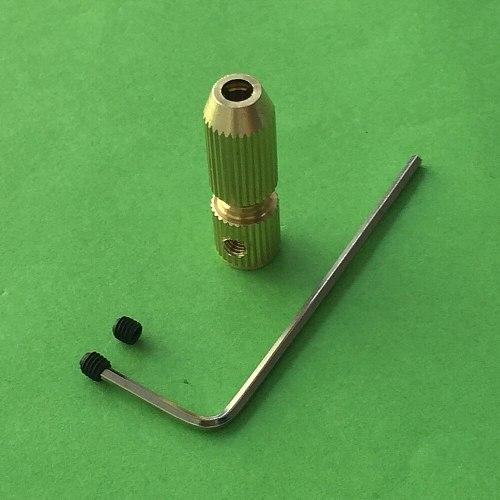 K106Y 0.7-3.2mm Mini Copper Electric Drill Bit Chuck Clip Various Models Complete