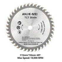 Free shipping 115MM Saw Blade for BDEWTECH BTC02 circular Saw  115x10mmX40T