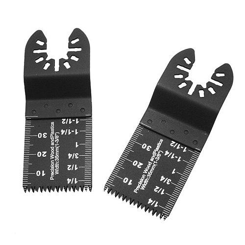5Pcs Multi-Function Bi-metal Precision Saw Blade Oscillating Multitool Saw Blade for Renovator Power Cutting Multimaster Tools