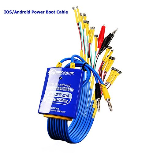 MECHANIC for Android IOS Power Boot Control line Android IOS Phone Test Power Supply Cable for iphone Huawei Xiaomi Samsung