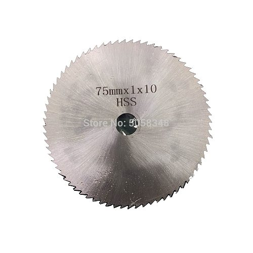 Disc Bore Diameter 10mm Disc Diameter 75mm  HSS saw blade Diamond cutting wheel for LB201