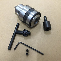 Mini Electric Drill Chuck 1.5-10mm With 5mm Steel Shaft Mount B12 Inner Hole DIY  Rotary Tools for mini lathe