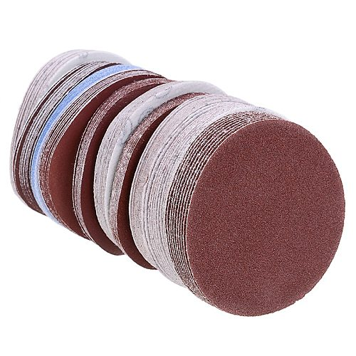 100pcs 75mm 3inch Sanding Discs Polishing Pad Sheets 80-3000 Grit Round Sandpaper Polishing Tool for Abrasive Tools Accessories