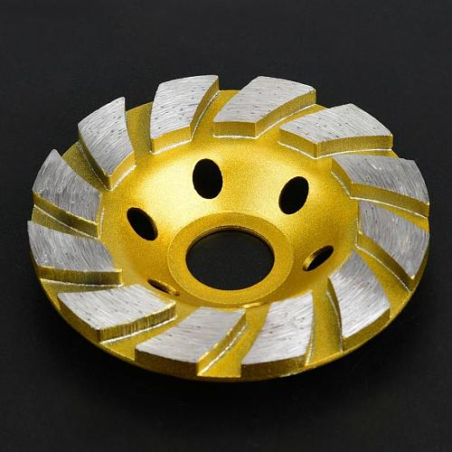 Angle Grinder 100mm/4in Diamond Grinding Wheel Cup Sanding Disc for Stone Concrete Ceramic Polishing Diamond Disc Sharpening