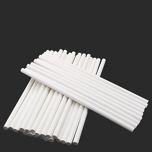 10Pcs 11x300mm Milky White Hot Melt Glue Stick 150 degree High Temperature Resistant for 11mm Glue Gun Adhesive Hot Glue