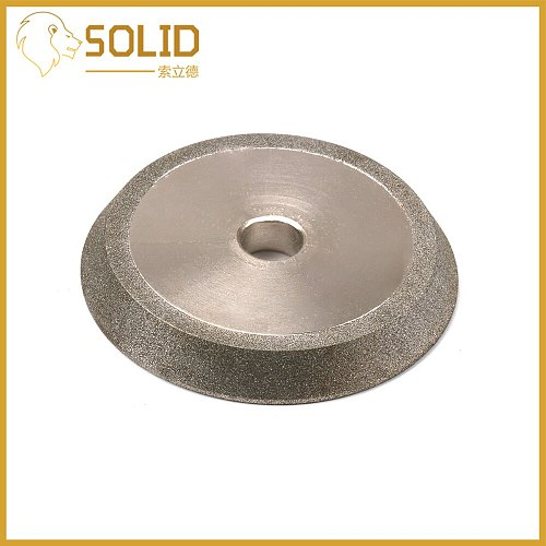 3  Diamond Grinding Wheel Milling Cutter Grinder Abrasive Cutting Disc for Carbide Tungsten Steel 150 Grit 60 Degree 1Pc