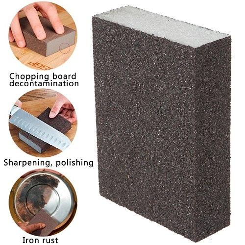 Sanding Block Girt Sponge Polishing Pad Furniture Buffing Sandpaper Tools